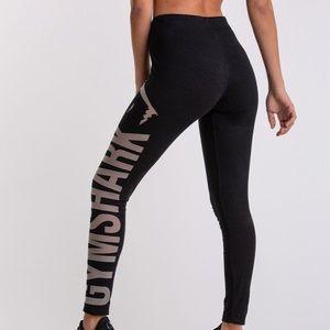 Gymshark cotton jersey blend leggings